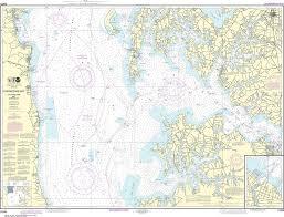 Noaa Nautical Chart 12266 Chesapeake Bay Choptank River And Herring Bay Cambridge