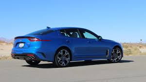 2018 kia electric. delighful 2018 2018 kia stinger gt in blue and kia electric