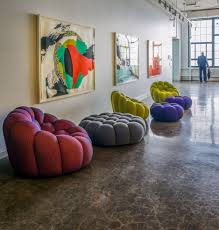 Roche Bobois Furnishes Lobby Gallery at Global Design Firm
