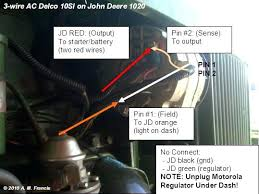 john deere 1020 alternator wiring diagram for a matt trumpgrets club John Deere Starter Wiring Diagram john deere 1020 alternator wiring diagram for a matt
