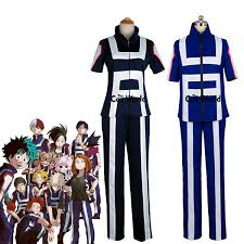 Height Chart My Hero Academia Cosplay Costume Boku No Hero Academia My Hero Academia All Roles Gym Suit High School Uniform Sports Wear Outfit Anime Cosplay Costumes Pirate