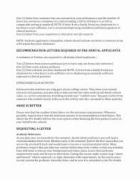 College Recommendation Letter From Family Friend Sample Medical School Recommendation Letter Sample Classycloud Co