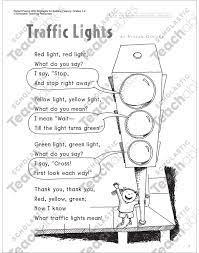 traffic lights read aloud poem