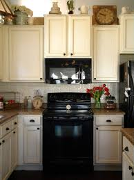 Small Picture White Cabinets With Black Appliances Opinions Outofhome