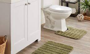 dark gray bathroom rug set bath toilet mat set oval bathroom mats