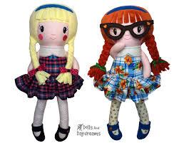 Dolls And Daydreams Embroidery Designs Ith Schoolgirl Doll Pattern Dolls Daydreams Machine