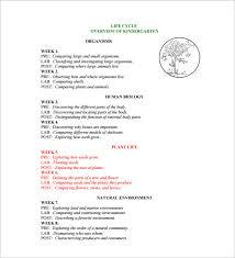 11 Kindergarten Lesson Plan Template Pdf Doc Free Premium