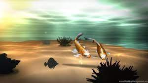 Koi 3D Fish Pond Live Wallpapers ...