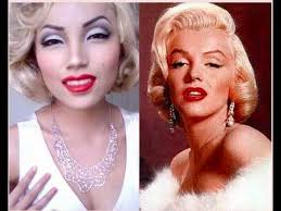marilyn monroe make up transformation kayla devine thought of you when i saw this