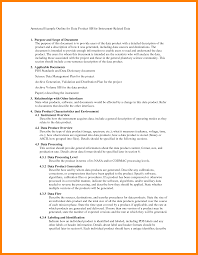 10 Outline Examples Apa Coaching Resume
