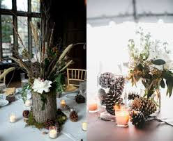 Pine Cone Wedding Table Decorations Most Interesting Pinecones Decoration Ideas For Winter Wedding