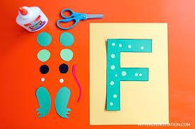Letter F Templates Letter F Craft Craft Banner Letter G Craft Ideas For Preschoolers