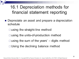 Chapter 16 Depreciation Ppt Video Online Download