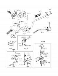 1994 kawasaki bayou 400 4x4 klf400b handlebar parts best Light Switch Wiring Diagram at 1994 Klf400b Wiring Diagram