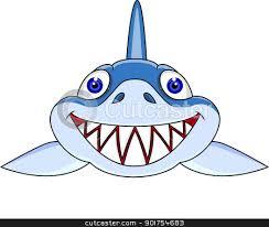 smiling shark clipart.  Clipart Smiling Shark Cartoon For Shark Clipart H