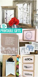 easy last minute printable gifts for birthdays weddings or any occasion these