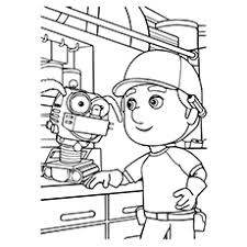 Small Picture Printable Coloring Pages Robot Coloring Pages