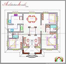 3d house plans in 1400 sq ft lovely three bedrooms in 1200 square feet kerala house plan