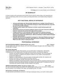 Human Resources Coordinator Resume samples   VisualCV resume