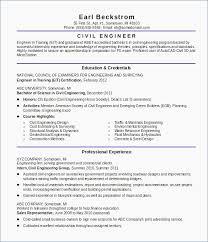 Civil Engineer Resume Sample Civil Engineering Template Structural