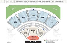 Verizon Theater Seating Chart View Verizon Wireless Amphitheatre Online Charts Collection
