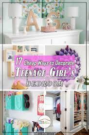 decorating ideas for teenage girl bedroom. 17 Cheap Ways To Decorate A Teenage Girls Bedroom | Best DIY And Inexpensive Ideas On Decorating For Girl