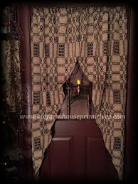 Primitive Country Kitchen Curtains Primitive Country Curtains