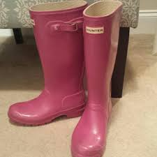 hunter boots size 6 hunter shoes boots pink womens 7 big girls size 6 poshmark