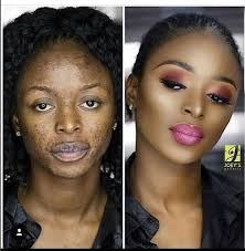 check out these before and after makeup