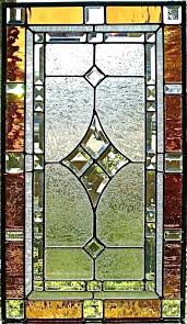 reclaimed stained glass windows for window panels interior leaded panel above door light st