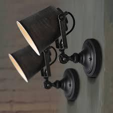 vintage adjule led light swing arm wall lights nordic