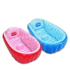 summer portable large baby toddler inflatable bathtub thick bathtub pool