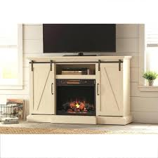 fireplace tv stand canadian tire 18 tv stand electric fireplace with sliding barn door in white