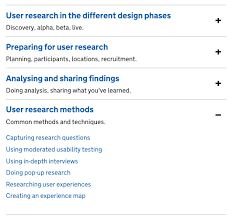 Design User Research Googlegroups Com New User Research Methods Guides In The Service Manual