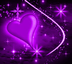 pink and purple heart backgrounds. Purple Heart Background Wallpaper Image With Plasma Stars And Pink Backgrounds
