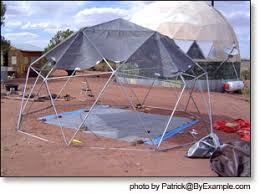 New Geodesic Dome Calculator and DIY Dome Plans   ByExample comWhile constructing the dome frame was relatively straightforward  making a form fitting dome cover presented more of a challenge  We will be experimenting