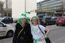 On the streets of Copenhagen on Paddy's Day, live from the 3-Legged Charity  Race - The Post