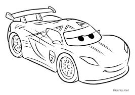Kleurplaat Cars 2