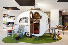 google office tour. View In Gallery 60s Caravan Styled Hangout And Lounge Chairs Inside Google Amsterdam Office Tour