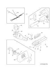 Frigidaire ice maker parts diagram frigidaire ice maker parts