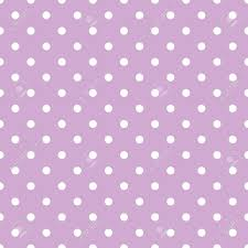 Light Purple And White Polka Dots Tile Vector Pattern With Small White Polka Dots On Pastel Violet