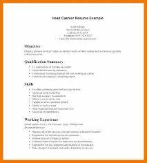 Cashier Resume Sample 7 8 Sample Resume For Cashier Retail Stores Mysafetgloves Com