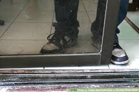 image titled clean and lubricate a sliding glass door step 3