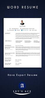 Good Looking Cv Bunch Of Attractive And Good Looking Resume Designs In Word