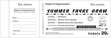 Sample Raffle Tickets Raffle Ticket Samples Threapleton Printers Raffle Ticket Solutions
