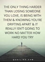 Lost Love Quotes Stunning Losing Someone Quotes Mesmerizing Hurt Quotes The Only Thing Harder
