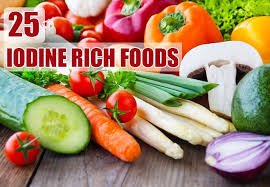 Iodine Levels In Food Chart 25 Iodine Rich Foods You Should Include In Your Diet