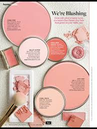 Coral Bedroom Paint Better Homes And Gardens Paint Samples Were Blushing Paint