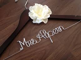 Wedding Dress Hanger Bride Hanger Bridal Hanger Bridesmaid