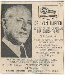 Ivan Harper – Social Credit – 1975 General Election – – New Zealand  Election Ads